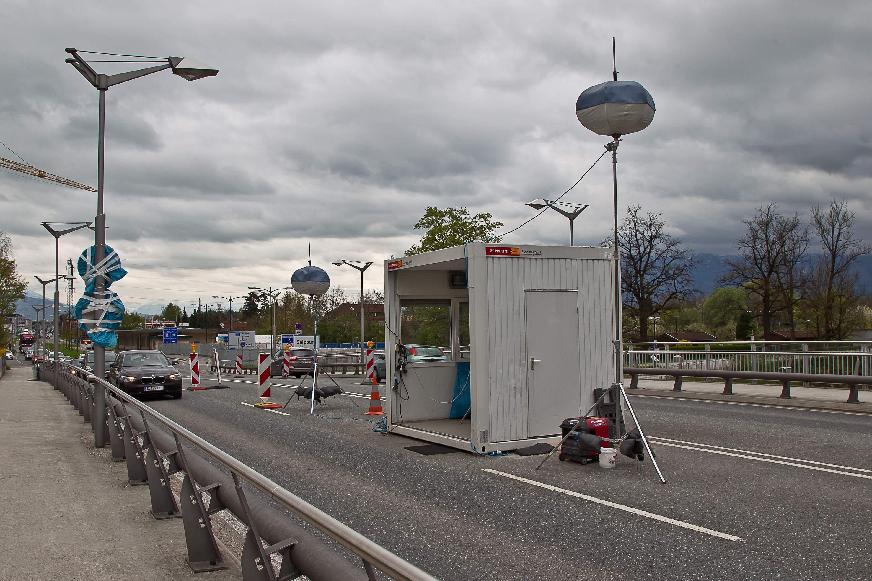 Grenzübergang Freilassing