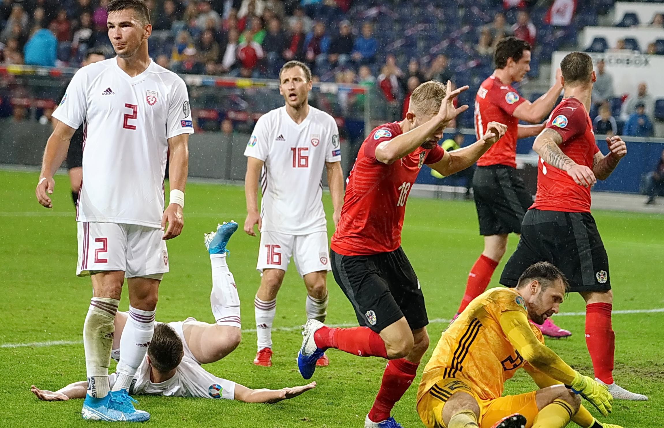 Österreich Vs Lettland