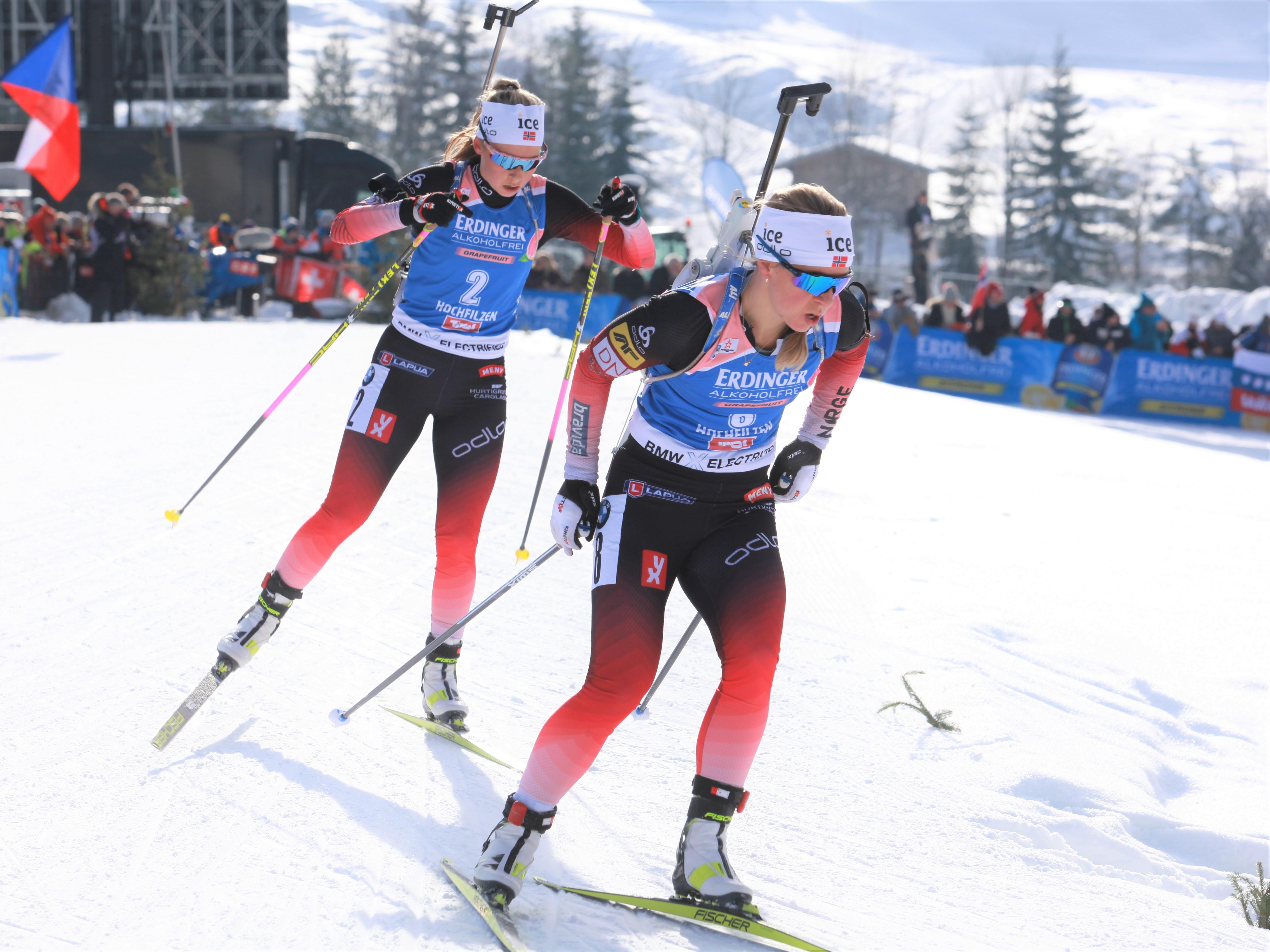 Biathlon Damen Verfolgung