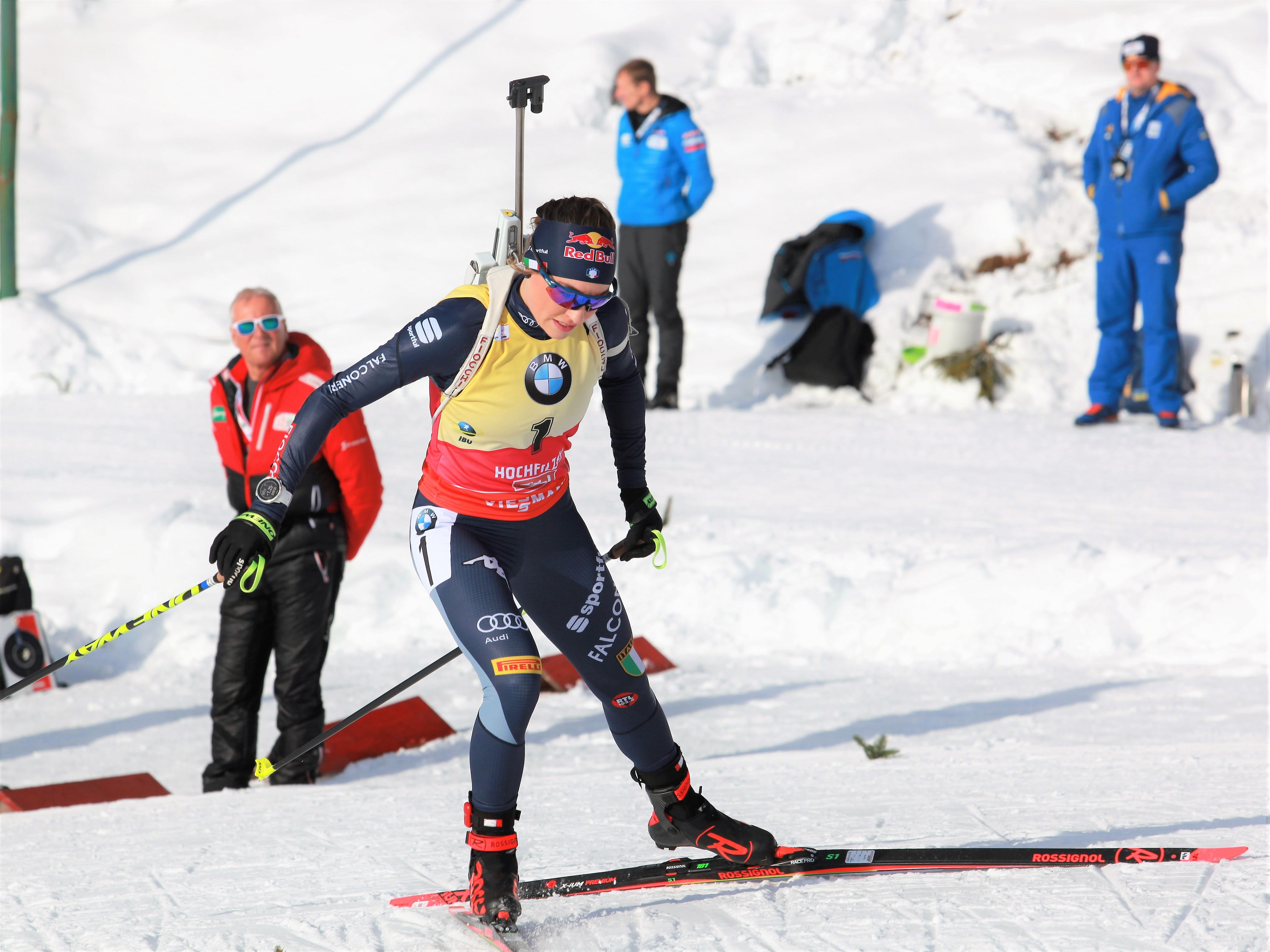 Verfolgung Biathlon Damen
